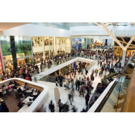 Servicio de vigilancia en centros comerciales