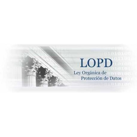 Protección de Datos de Carácter Personal (LOPD)